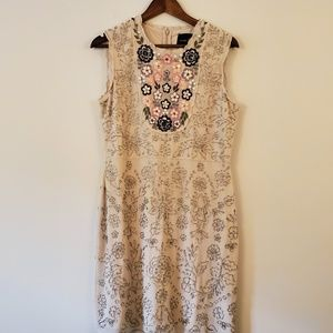Needle and Thread size 10 embroidered dress